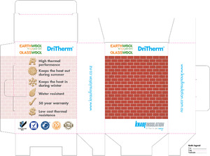 Knauf DriTherm Insulation sample box