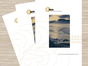 BBK Coastal Development Group brochure and logo design