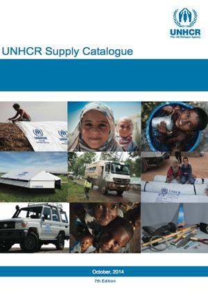 UNHCR SUPPLY CATALOGUE 7th Edition