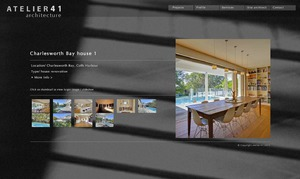Atelier 41 Architecture website