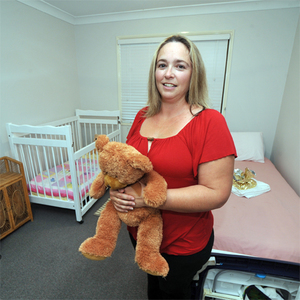 Opening doors for young mums in crisis