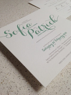 DaydreamDesign Bespoke Wedding Stationery