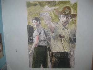 Walking Dead Wall Artwork