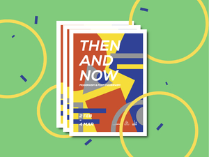 Then and Now  - Exhibition Branding