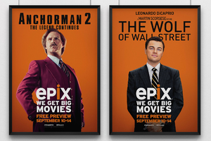 Anchorman 2 / The Wolf On Wall Street - EPIX Campaign