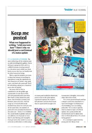 Article for Jetstar Magazine