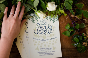 Ben & Jessica's Wedding Invites