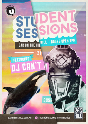 Student Sessions Promo Posters