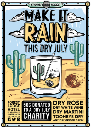 Dry July poster