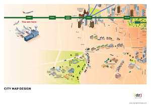 Airport Link illustration/mapping