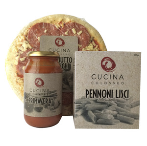 Packaging Design for Cucina Colosseo