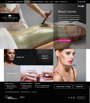 The French Beauty Academy | Content Design & UX Testing