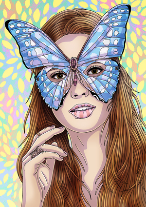 Butterfly Mask - Urban Outfitters