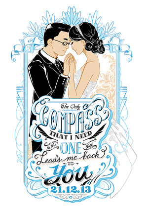 Wedding Illustration & Craft Design