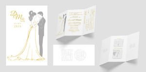 Wedding Illustration & Invitation Design