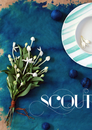 SCOUT magazine - concept, writing, styling, photography, design