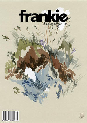 Frankie Magazine Cover Redesign