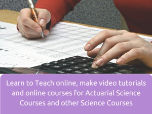 Learn to Teach online, make video tutorials and online courses for Physics Courses and other Science Courses