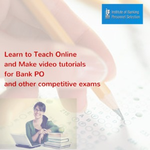 Learn to Teach Online and Make video tutorials for IIT JEE MAINS, IIT JEE ADVANCED and other competitive exams