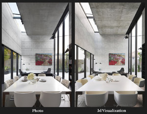 Modeling and Rendering an Interior from Photo Reference in 3ds Max