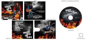 CD Cover and Disc Label Mikie Campro