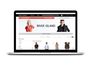 River Island X The Iconic