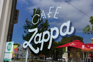 Cafe Zappa / Hand Painted Signs