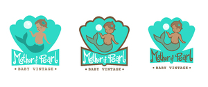 Mother of Pearl Logo Design