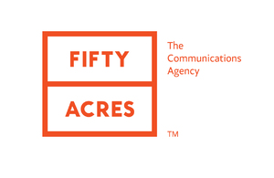 Fifty Acres Brand development, Identity development, Information design, Print, Website design & build