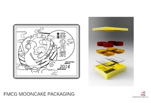 FMCG Mooncake package