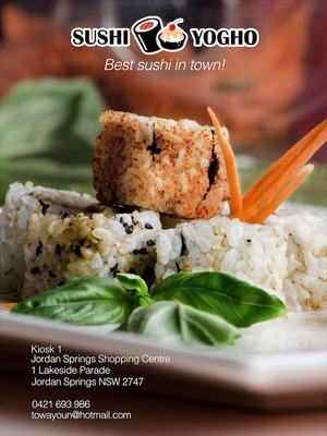 Sushi Yogho Advertising Project