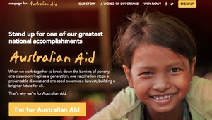 Campaign for Australian Aid