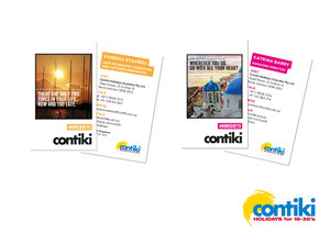 Contiki Business Cards