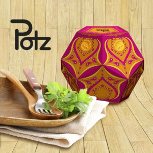 Potz Pepper Packaging Design