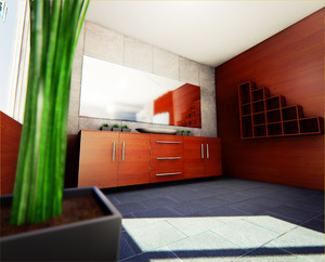 Unreal Engine Bathroom
