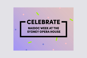 NAIDOC WEEK AT THE HOUSE