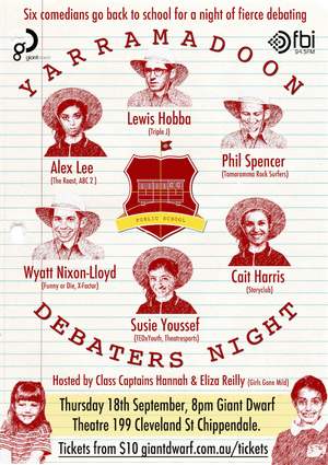 The Yarramadoon Debaters Night (2014)