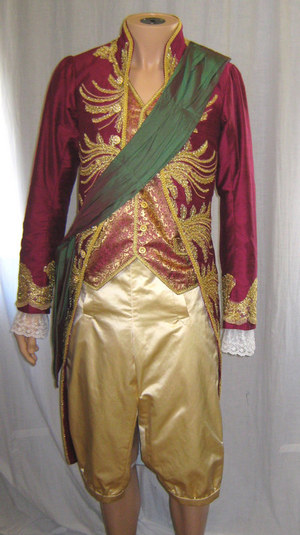 Gamache Costume: SINGAPORE DANCE THEATRE