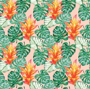 Tropical Repeat Pattern