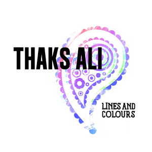 "Thaks Ali 'Lines and Colours' 7"" Vinyl"