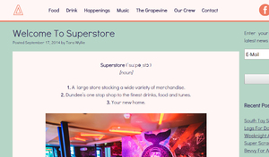 Superstore Club Launch - Blog review/promo