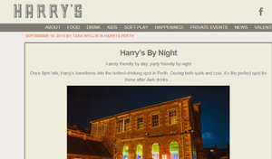 Harry's - After Dark relaunch