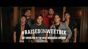 Justice Crew - Raised by Weetbix