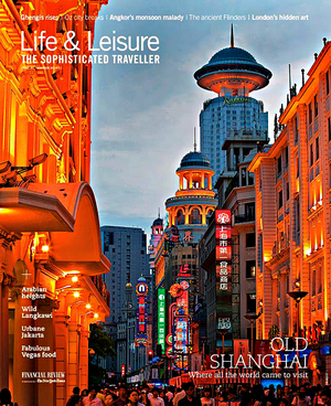 Life & Leisure Cover Magazine
