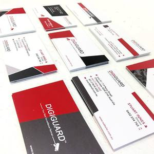 DigitGuard Business Card Design
