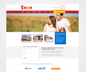 Web Designed for Home Loans Provider