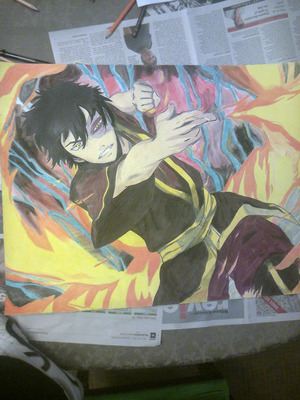 Zuko - Drawing Colour Pencil