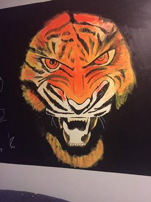 Tiger Wall Artwork