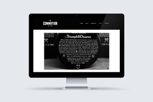 Commotion Video Production Website Redisgn