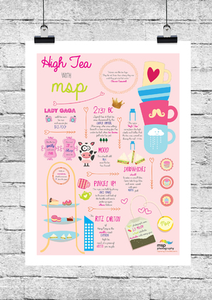 MSP Photography - High Tea Campaign